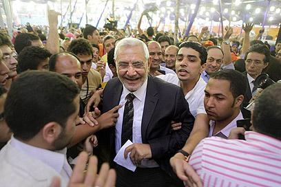 """אבו אל-פתוח. """"מצרים תהיה בין 20 הכלכלות החזקות"""" (צילום: AP) (צילום: AP)"""