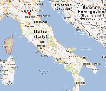 אזור הרעש, הלילה (צילום: google maps) (צילום: google maps)
