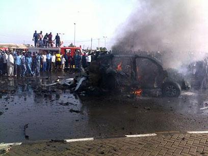 פיצוץ המכונית בפורט סודן ()
