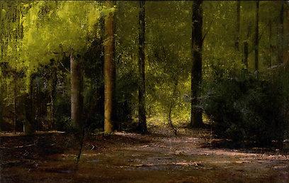 """""""יער"""", ציור של אלדר פרבר (איור: אלדר פרבר) (איור: אלדר פרבר)"""