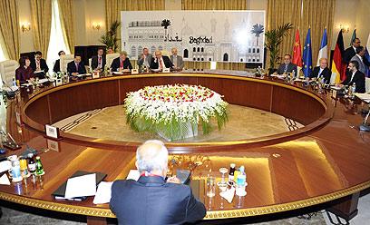Nuclear talks in Baghdad (Photo: AFP)