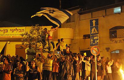 לתושבי השכונות נמאס מאוזלת היד של הממשלה (צילום: ירון ברנר) (צילום: ירון ברנר)