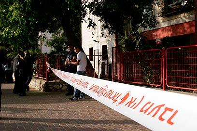 """""""אירוע קשה"""", אמרו במשטרה (צילום: אליעד לוי) (צילום: אליעד לוי)"""