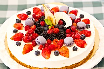בסוף לא התפשרות על עוגיות חמאה. העוגה המושלמת (צילום: טל שחר) (צילום: טל שחר)