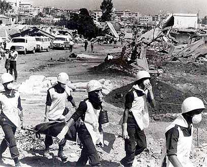 אחרי הטבח במחנות הפליטים. נשק דה-לגיטימציה עד היום (צילום: יוסי רוט) (צילום: יוסי רוט)