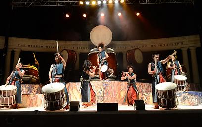 להקת יאמאטו אמש בפסטיבל ישראל. וירטואוזי ומרשים (צילומים: אוריה תדמור) (צילום: אוריה תדמור) (צילום: אוריה תדמור)