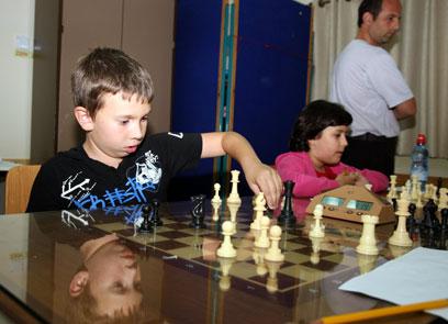 הילדים הרבה יותר אימפולסיביים. באליפות באשקלון (צילום: רועי עידן) (צילום: רועי עידן)