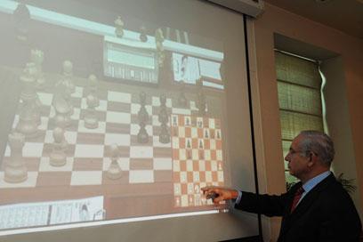 """נתניהו ולוח השחמט. יכולת תכנון למרחקים ארוכים (צילום: עמוס בן גרשום, לע""""מ) (צילום: עמוס בן גרשום, לע"""