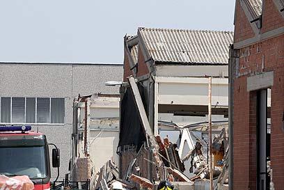 רעידת אדמה בצפון איטליה. בקרוב אצלנו? נקווה שלא (צילום: EPA)