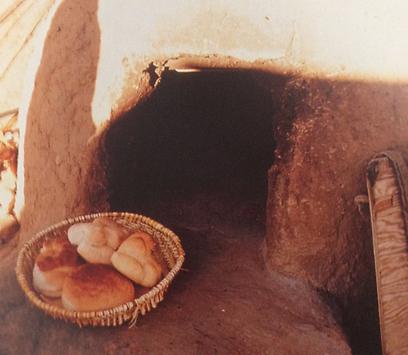 חם מהתנור. לחם אינדיאני (צילום: מרשה קיגאן) (צילום: מרשה קיגאן)