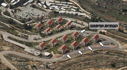 גבעת האולפנה. חמישה בתים במחלוקת (צילום: באדיבות Lowshot) (צילום: באדיבות Lowshot)