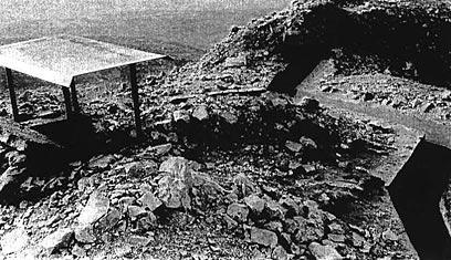 """עמדת הסככה וקו התעלה (צילום: ארכיון צה""""ל ומערכת הביטחון) (צילום: ארכיון צה"""