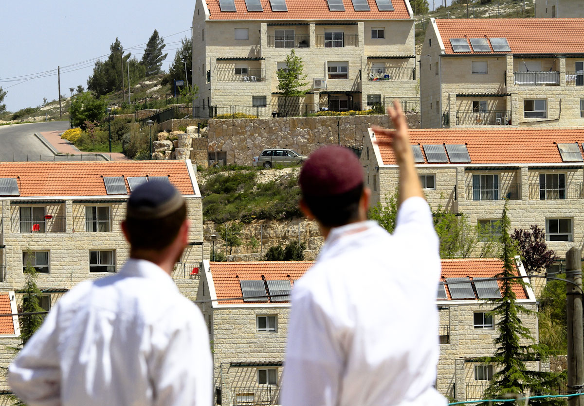 West Bank settlement (Photo: Amir Levi) (צילום: אמיר לוי)