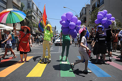 Pride Parade in Tel Aviv (Photo: Yaron Brener)