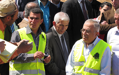 נאסר נוואג'עה וסלאם פיאד (צילום: באדיבות בצלם) (צילום: באדיבות בצלם)