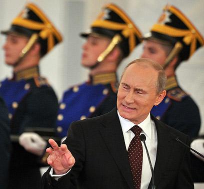 פוטין. יזיז לו? (צילום: AFP) (צילום: AFP)