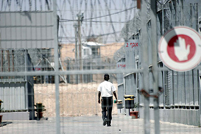 מתקן כליאה. קצב בנייתם יקבע את קצב המעצרים (צילום: אליעד לוי)