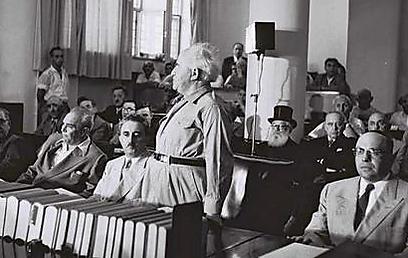 """ראש הממשלה הראשון, דוד בן-גוריון (צילום: משה פרידן, לע""""מ) (צילום: משה פרידן, לע"""