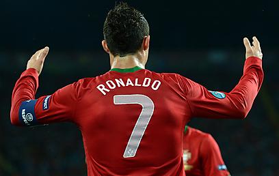 מלך המשחק. רונאלדו (צילום: AFP) (צילום: AFP)