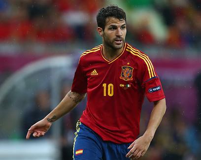 ספרד יוצאת לדרך חדשה אחרי היורו. פברגאס (צילום: gettyimages) (צילום: gettyimages)