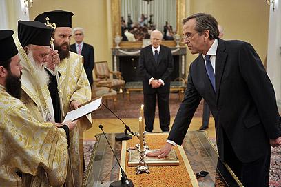 סמאראס מושבע (צילום: AFP) (צילום: AFP)