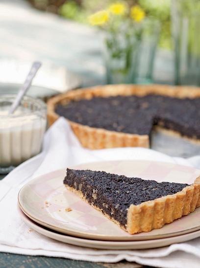 ממכרת. עוגת פרג (צילום: דניה ויינר) (צילום: דניה ויינר)