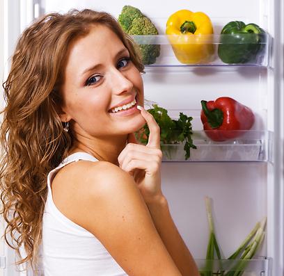 בשלב ההתקפה אפשר לאכול ירקות ללא הגבלה (צילום: shutterstock) (צילום: shutterstock)