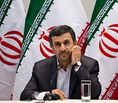 נשיא איראן, מחמוד אחמדינג'אד (צילום: AP) (צילום: AP)
