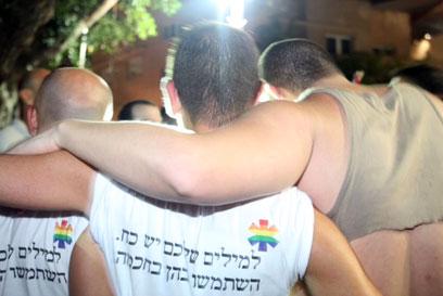 """""""למילים יש כוח"""", הערב בתל אביב (צילום: מוטי קמחי) (צילום: מוטי קמחי)"""