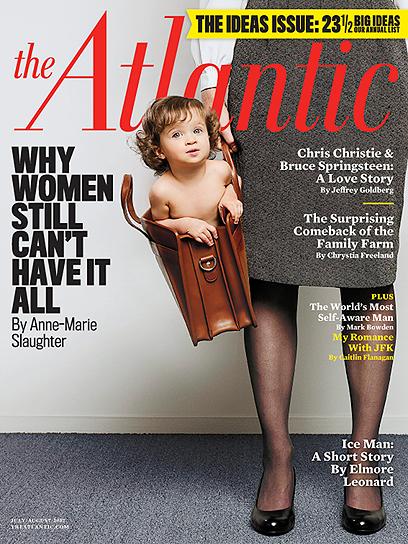 """שער """"האטלנטיק"""". """"למה נשים עדיין לא יכולות להשיג הכול"""" (צילום: AP) (צילום: AP)"""