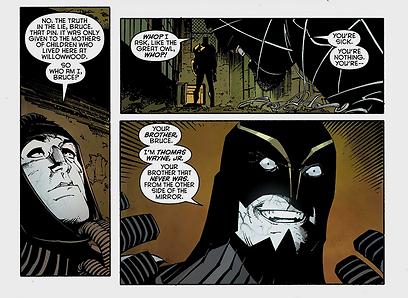 אחי איפה אתה? משפחתו המסובכת של באטמן (עטיפת הקומיקס) (עטיפת הקומיקס)