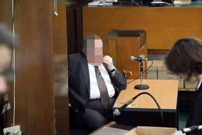 """""""הוא הסביר שאין ל'יד שרה' מימון ממשלתי"""". עד המדינה בבית המשפט, היום (צילום: מוטי קמחי)"""