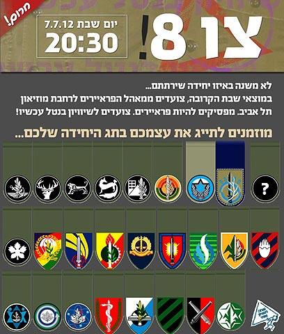 ההזמנה להפגנה מחר בתל-אביב ()