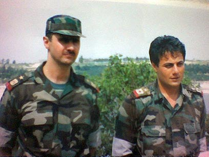 Assad and Tlass in better days