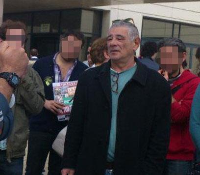 """סילמן עם פעילי """"החזית החיפאית"""" (צילום: סמדר ברקוביץ') (צילום: סמדר ברקוביץ')"""