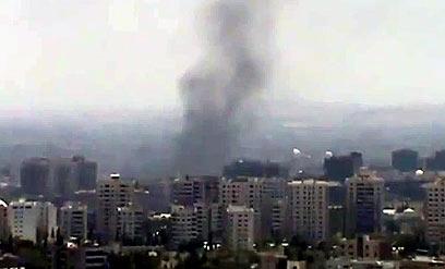 חמישה ימים של קרבות בין הצבא למורדים. דמשק (צילום: AFP) (צילום: AFP)