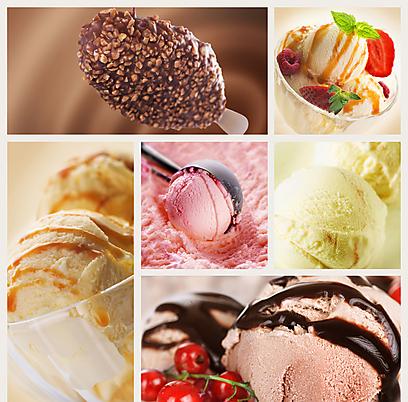 גלידות בטעמים שונים (צילום: shutterstock) (צילום: shutterstock)