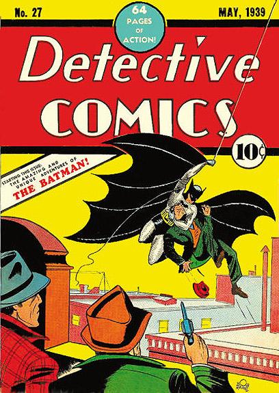 """באטמן מגיע לעולם ב""""Detective Comics #27"""" ()"""