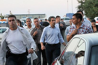 "נשיא בולגריה בבורגס. ""לא מסוכן כאן"" (צילום: רויטרס) (צילום: רויטרס)"