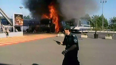 Scene of Burgas terror attack