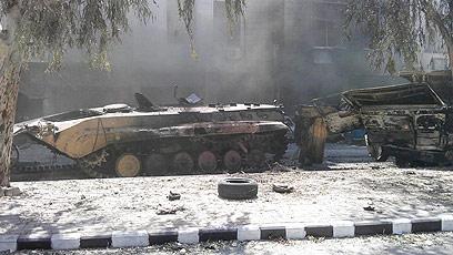 סוף שבוע רגוע יחסית בדמשק   (צילום: רוירטס) (צילום: רוירטס)