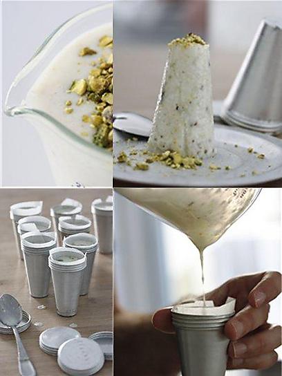 גלידת קשיו (צילום: מיכל וקסמן) (צילום: מיכל וקסמן)