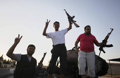 Syrian rebels in Aleppo (Photo: EPA)