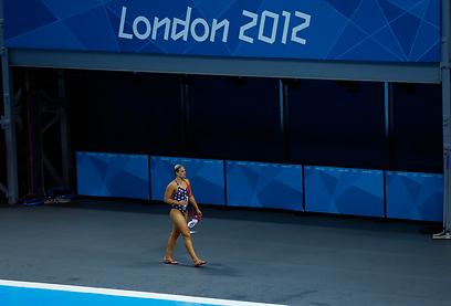 הבריכה האולימפית בלונדון (צילום: gettyimages) (צילום: gettyimages)