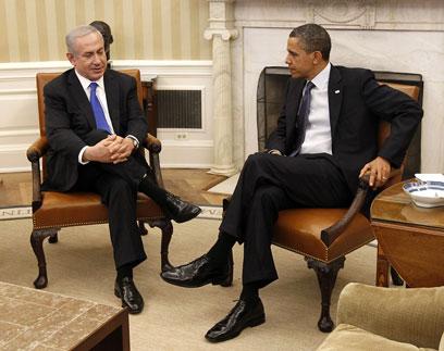 הנשיא האמריקני מנסה לעקוף את ממשלת ישראל? אובמה ונתניהו (צילום: AP) (צילום: AP)