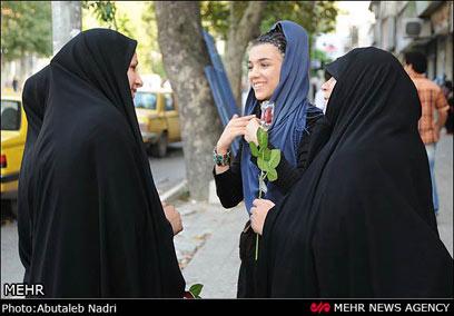 קיבלה חיזוק חיובי מנשות משטרת הצניעות (צילום: MEHR) (צילום: MEHR)