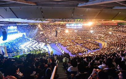 הכנס בהיכל נוקיה (צילום: ישראל ברדוגו) (צילום: ישראל ברדוגו)