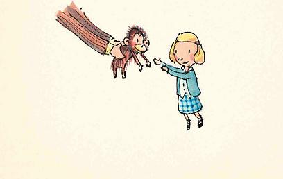 מתוך הספר. עולם הבובות הופך לעולם החיות  (איור: פטריק מקדונל)