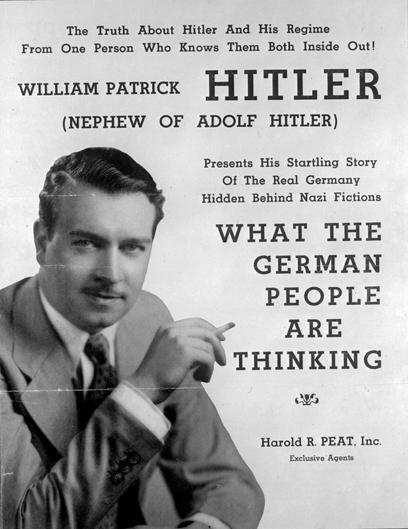 """היטלר כינה אותו """"האחיין המגעיל שלי"""" (צילום: gettyimages) (צילום: gettyimages)"""