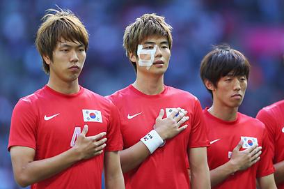 מתכוננים למדים הירוקים? או שלא? שחקני קוריאה (צילום: gettyimages) (צילום: gettyimages)